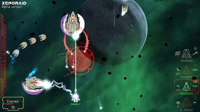 Introducing Scrolling Shoot 'Em Up Xenoraid on PS4, PS Vita