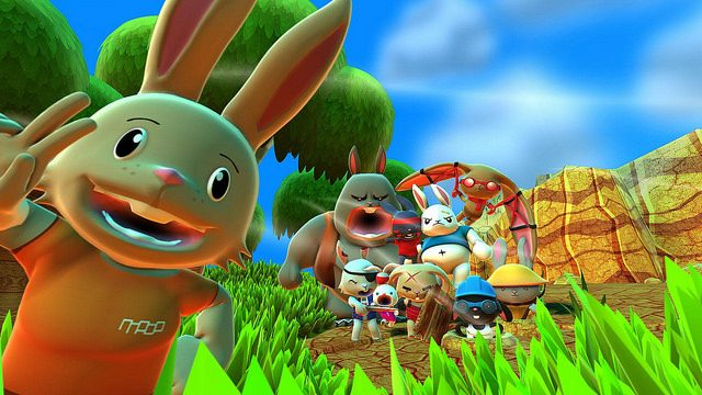 Blast 'Em Bunnies Launches March 8th on PS4, PS Vita