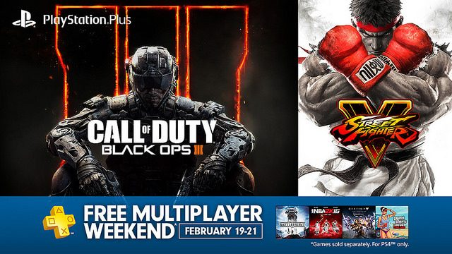 Free Multiplayer Weekend Starting This Friday on PS4