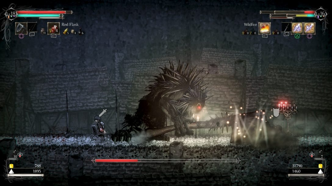 Friends, Foes, and Sellswords: Salt and Sanctuary Multiplayer Detailed
