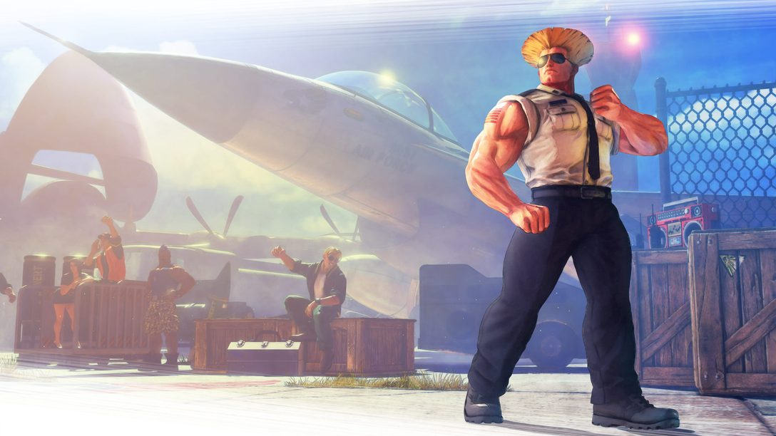 Guile Joins Street Fighter V Roster This Month, April Update Details