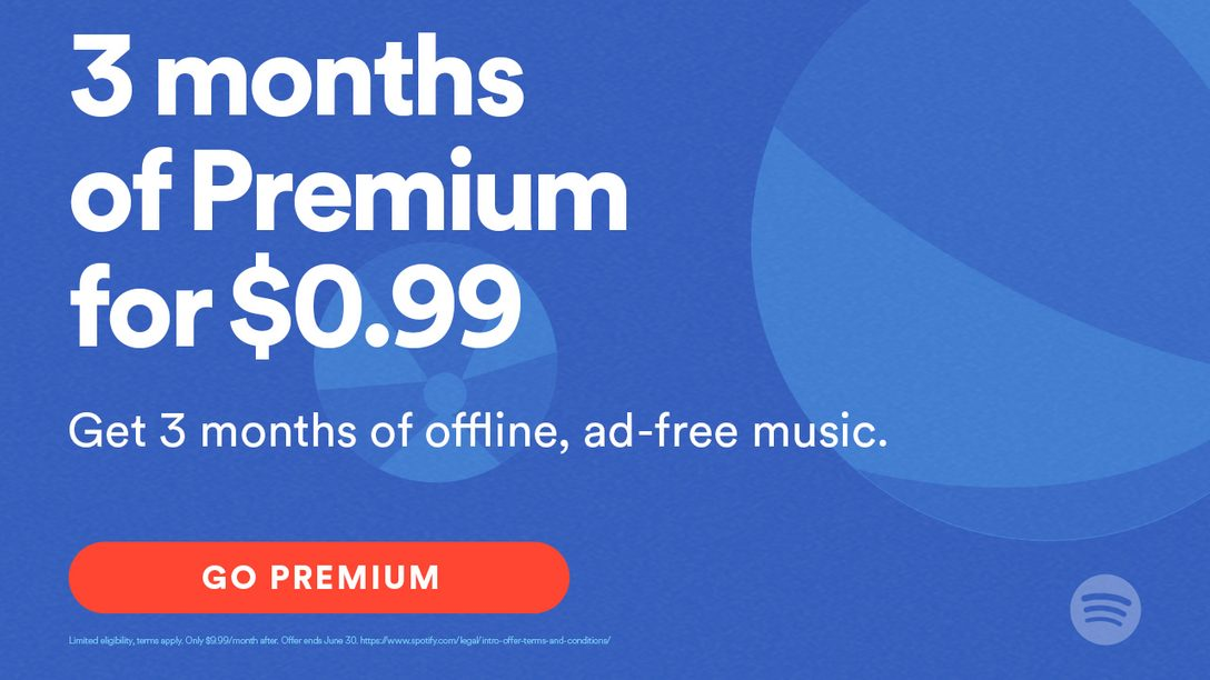 Spotify Brings 3 Months of Premium to PS Music for $0 99