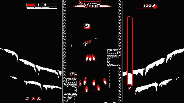 Downwell Drops onto PS4, PS Vita May 24