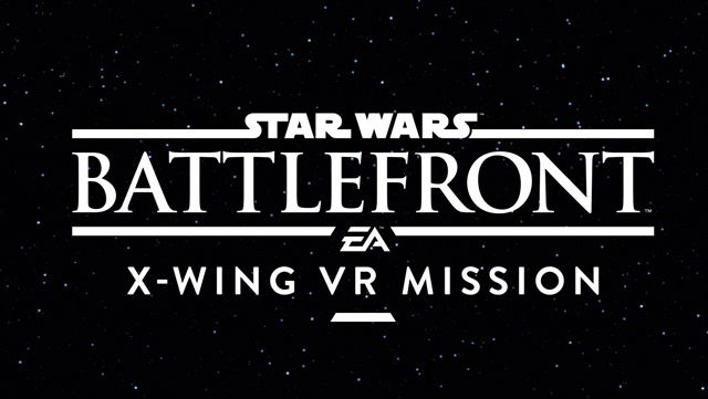 Introducing Star Wars Battlefront: X-Wing VR Mission