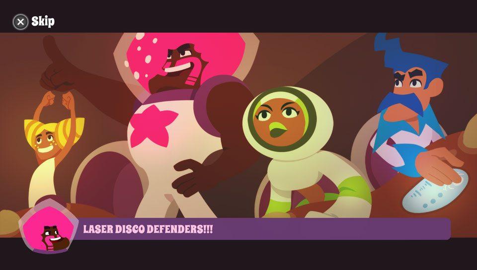 Laser Disco Defenders Gets Groovy on PS Vita