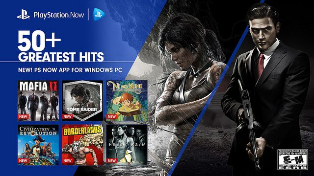 PS Now PC Streaming Available Today, 6 New Games Added