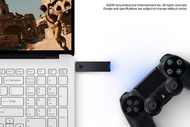 PlayStation Now Coming to PC, DualShock 4 USB Wireless Adaptor
