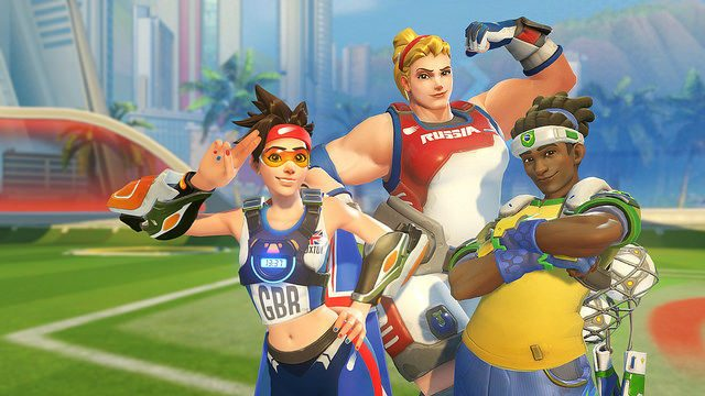 Overwatch: Celebrate Summer Games with Lucioball