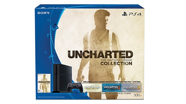 Uncharted: Nathan Drake Collection PS4 Bundle Out October 9th