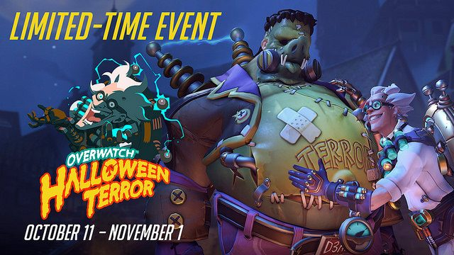 Overwatch Halloween Terror Begins Today, New Items and PvE Brawl