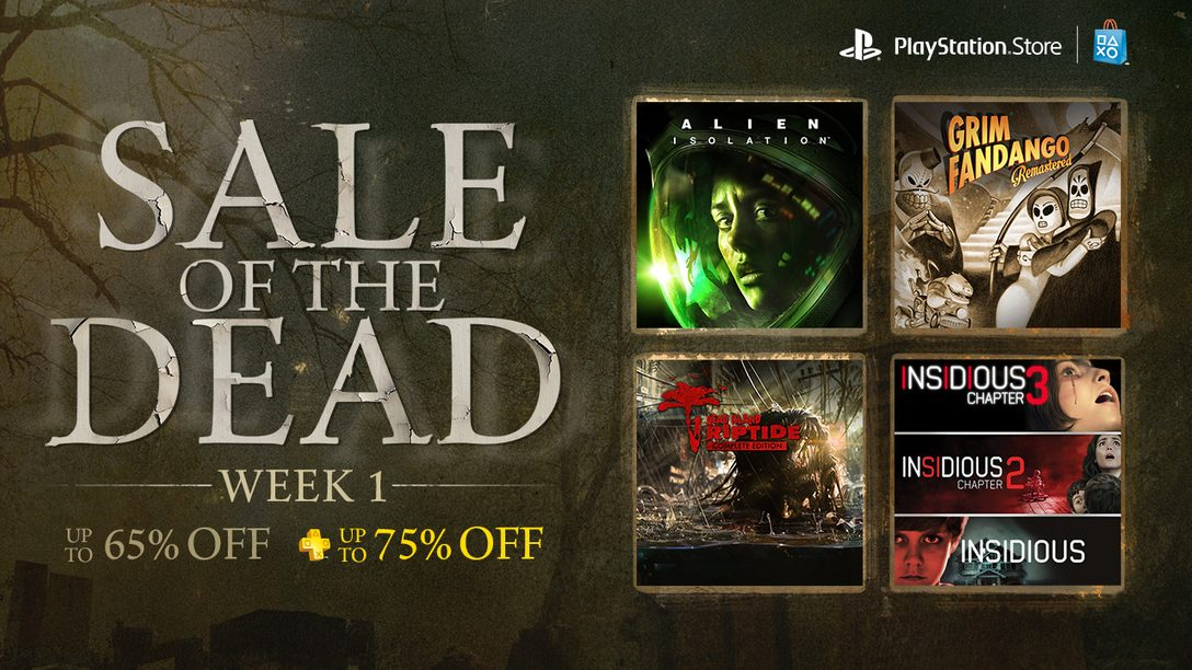 Sale of the Dead Week 1: Alien Isolation, Grim Fandango Remastered and More