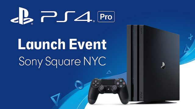 You're Invited: PS4 Pro Midnight Launch in NYC