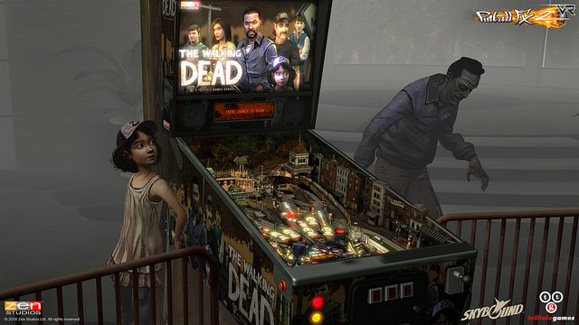 Pinball FX2 is Coming to PS VR Alongside The Walking Dead Pinball