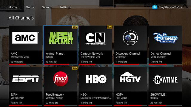 PlayStation Vue Launches on Apple TV Today