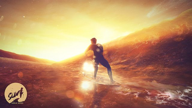 Surf World Series Announced: Master Monster Waves on PS4