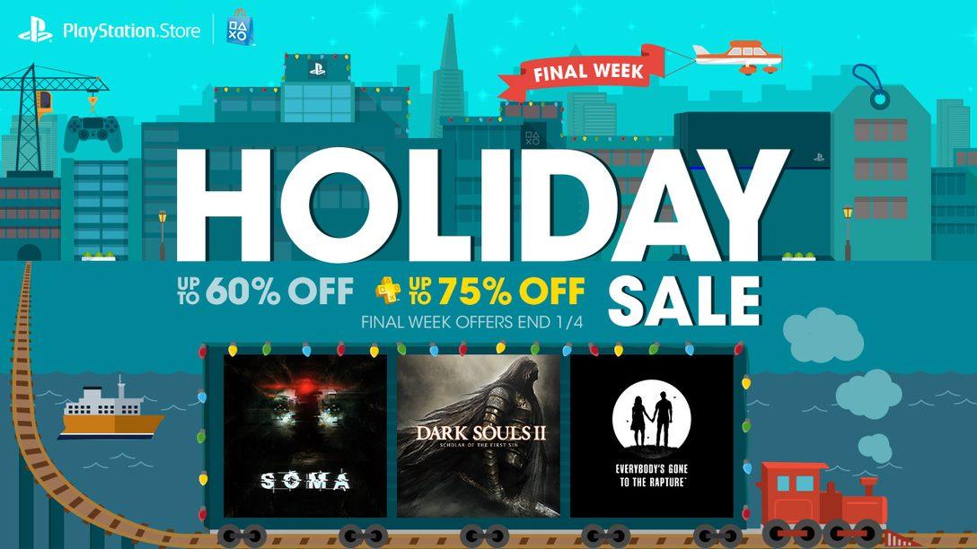 Holiday Sale Week 4: Final Week Brings Fallout 4, Dark Souls II
