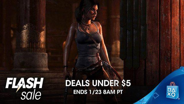 Deals Under $5 Flash Sale at PS Store