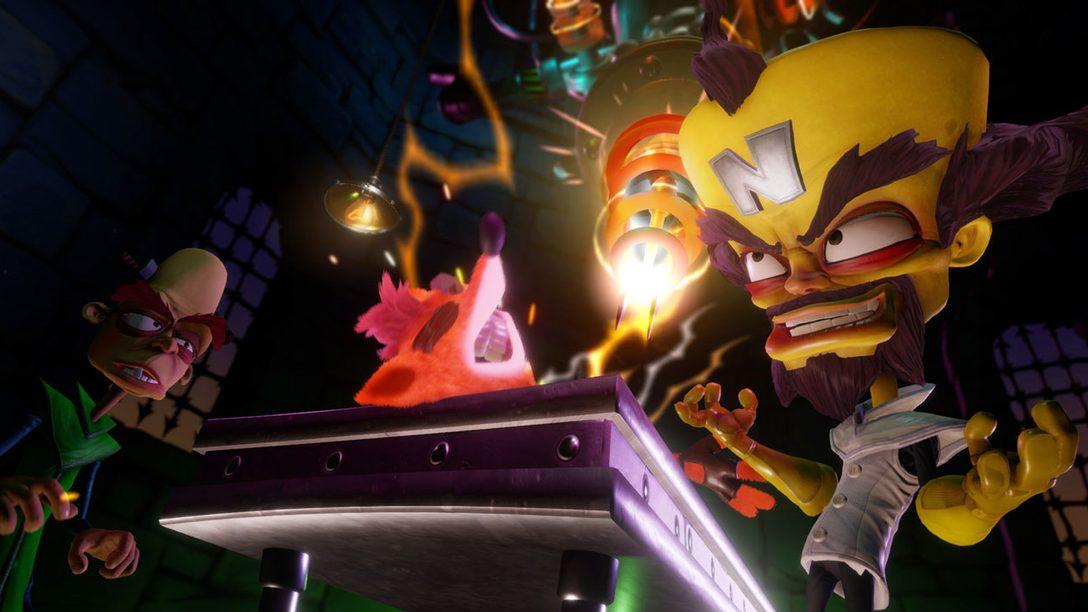 Crash Bandicoot N. Sane Trilogy Lands on PS4 June 30