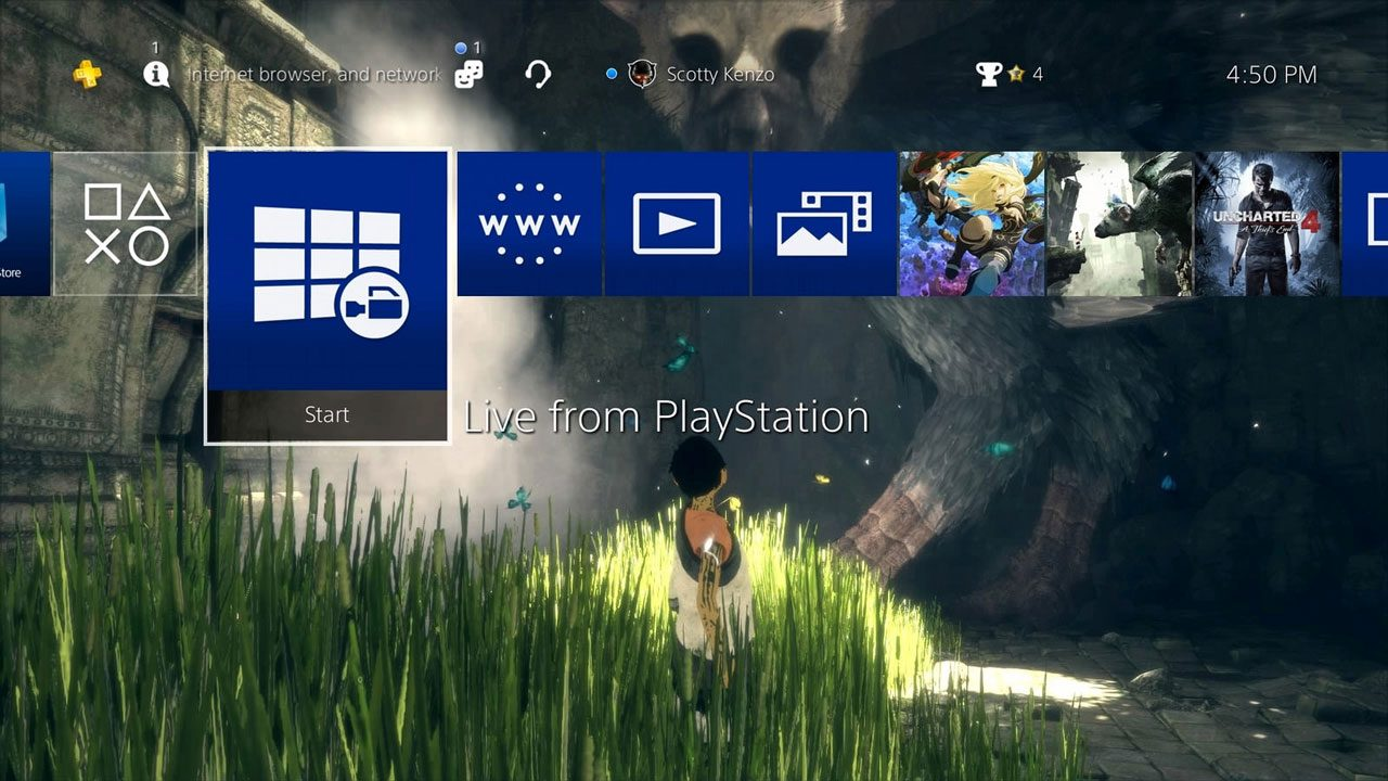 PS4 System Software Update 4 50 Features Detailed