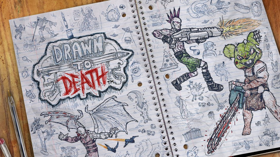 Drawn To Death is Free for PS Plus Members This April