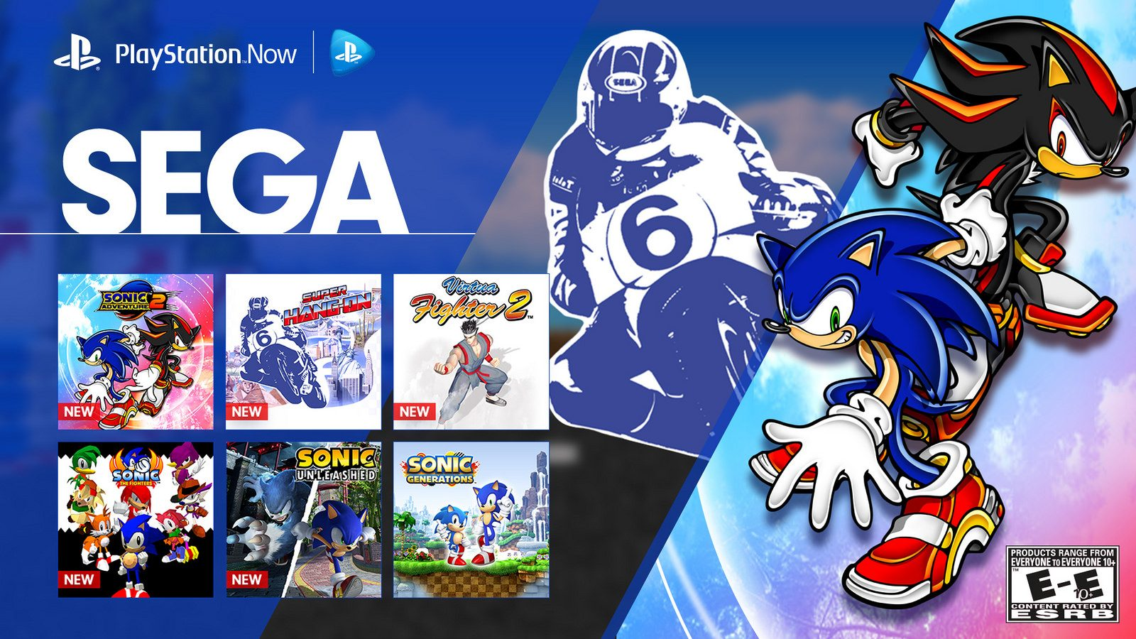 PS Now: 13 Sega Games Join Our Streaming Lineup Today