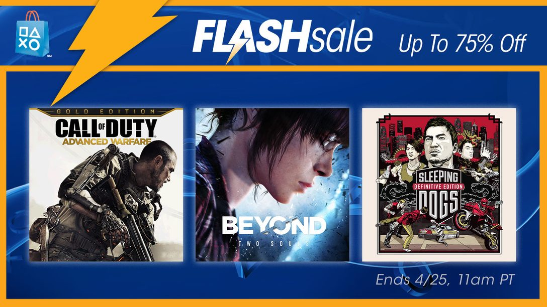 Flash Sale Now: Deals on Action Games & Movies