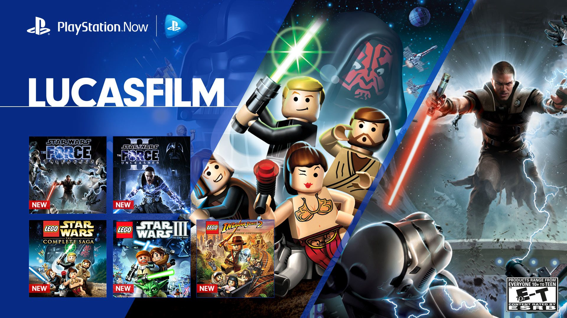 New on PS Now: Star Wars and Indiana Jones – PlayStation Blog