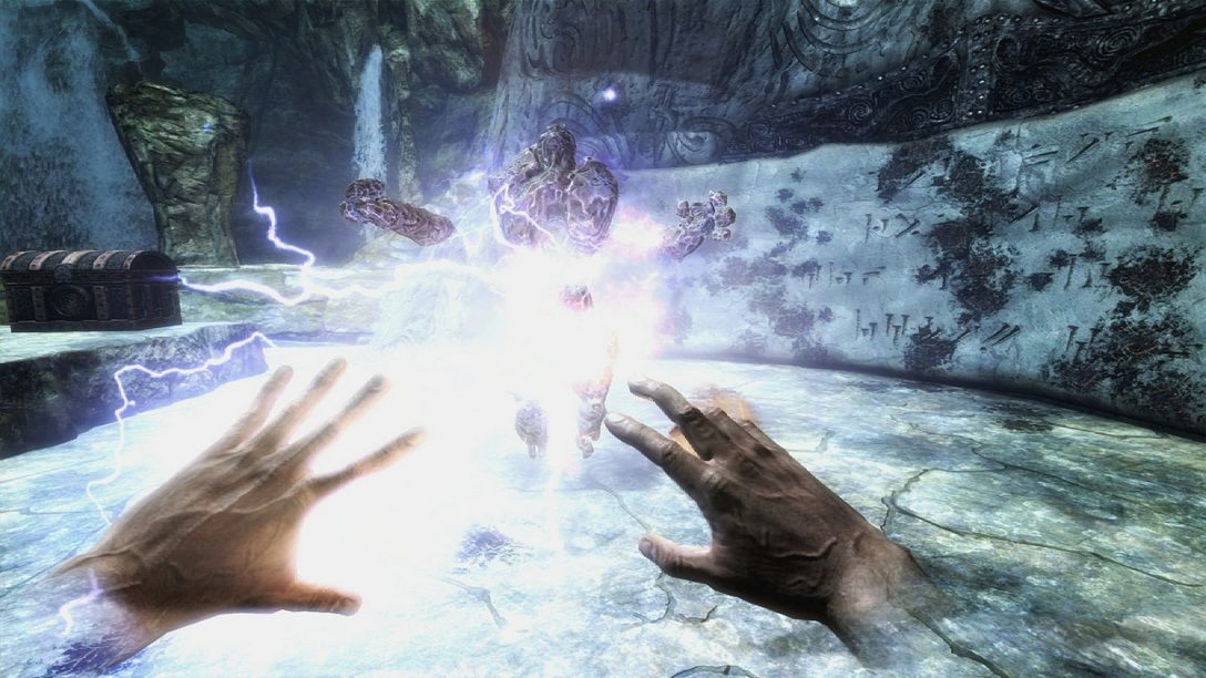 Skyrim for PlayStation VR is a Frighteningly Empowering Experience