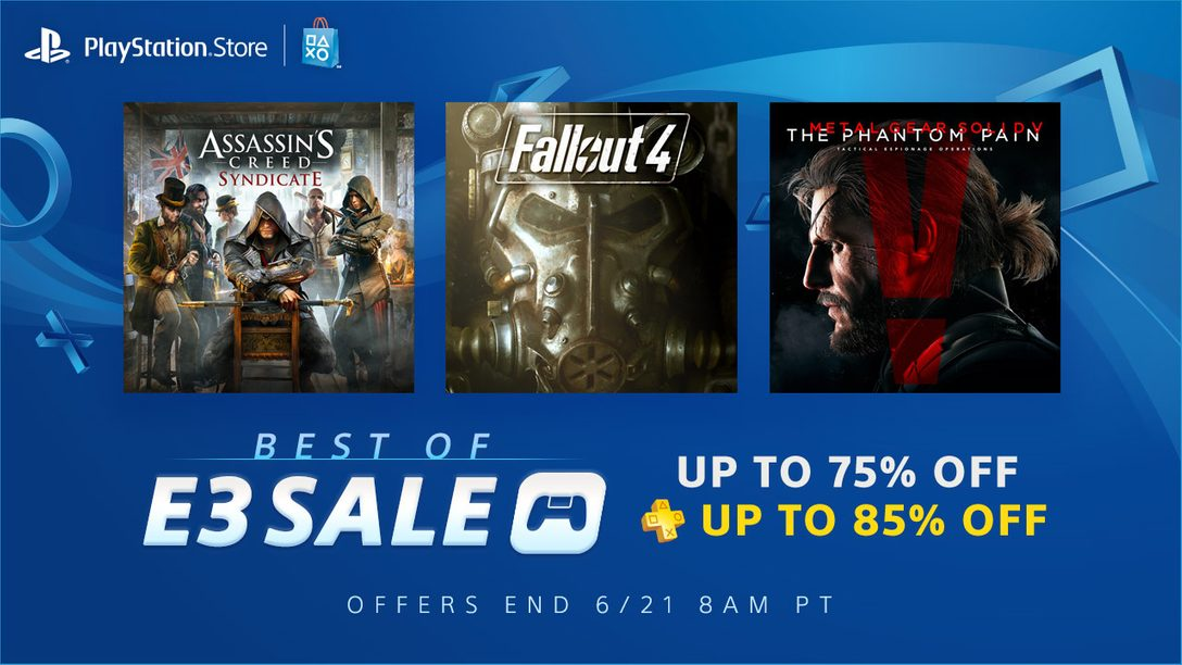 Best of E3 Sale: Up to 75% Off Past Show Favorites