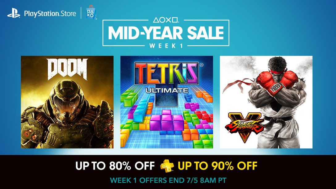 Mid-Year Sale – Week 1: Up to 80% Off 100+ Titles