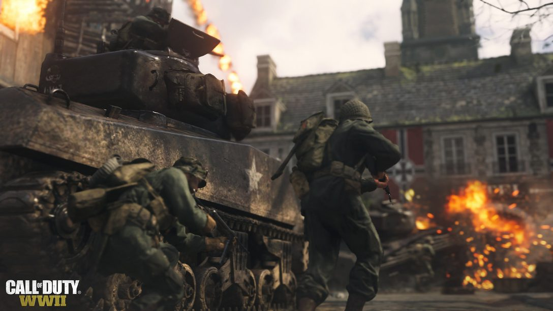 T-Minus 30 Days Until the Call of Duty WWII Beta, Divisions Overview