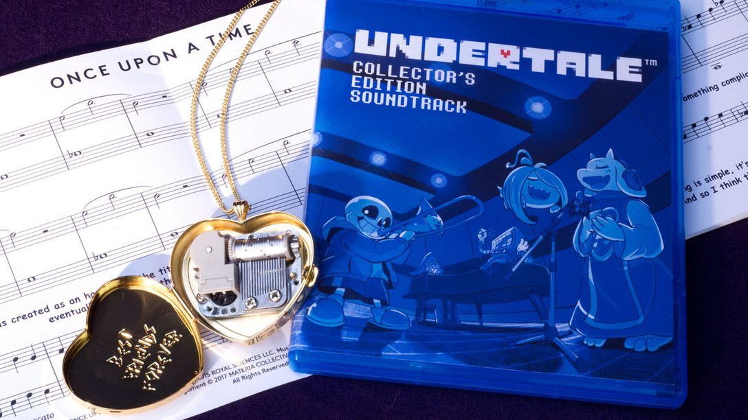 First Look at Undertale PS4 Theme, Closer Look at Physical Editions