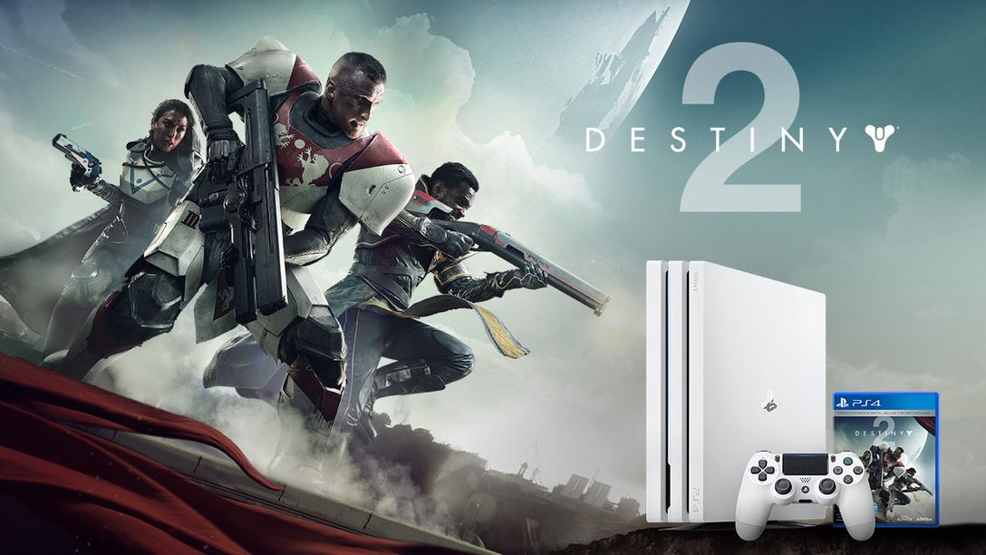 Introducing the Limited Edition Destiny 2 PS4 Pro Bundle