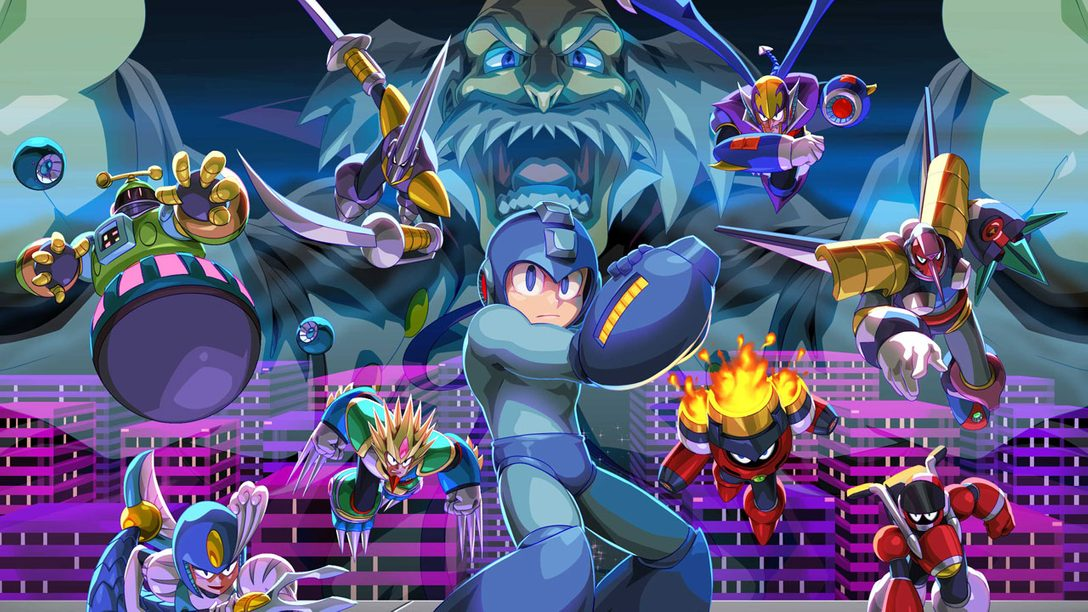 Mega Man Legacy Collection 2: New PS4 Theme Designed by Udon, Free for Pre-orders