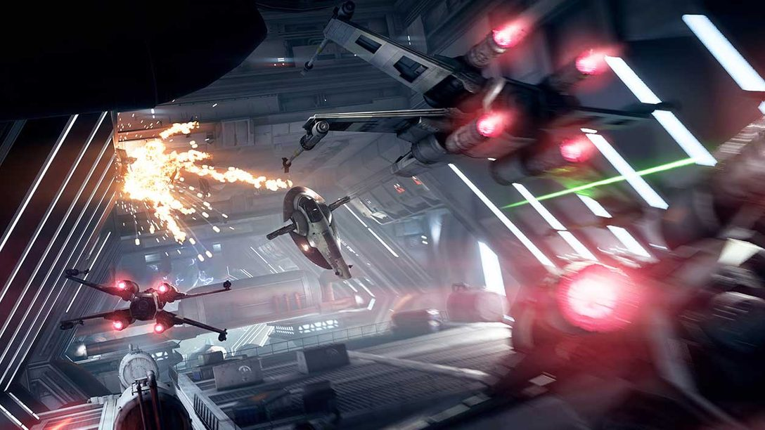 First Hands-on: Star Wars Battlefront II Starfighter Assault