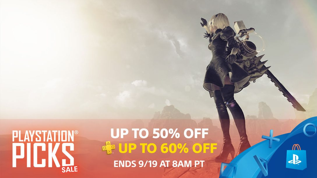 PlayStation Picks Sale: Save Up to 50%