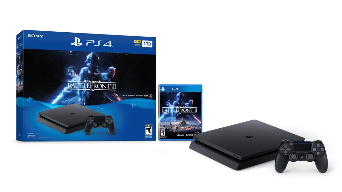 Introducing A Star Wars Battlefront II PlayStation 4 Bundle