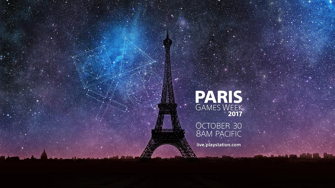 PlayStation Live From Paris Games Week: Watch October 30