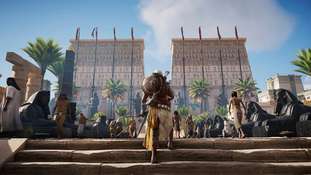Assassin's Creed Origins: Learning from the Past, Looking to the Future