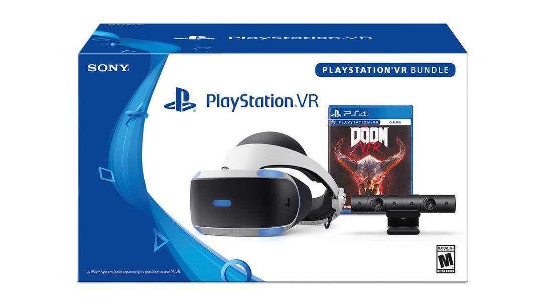 Introducing the PlayStation VR DOOM VFR Bundle