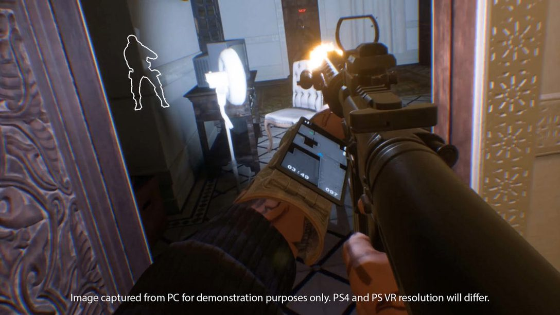 Firewall Zero Hour for PS VR Impresses at PlayStation Experience