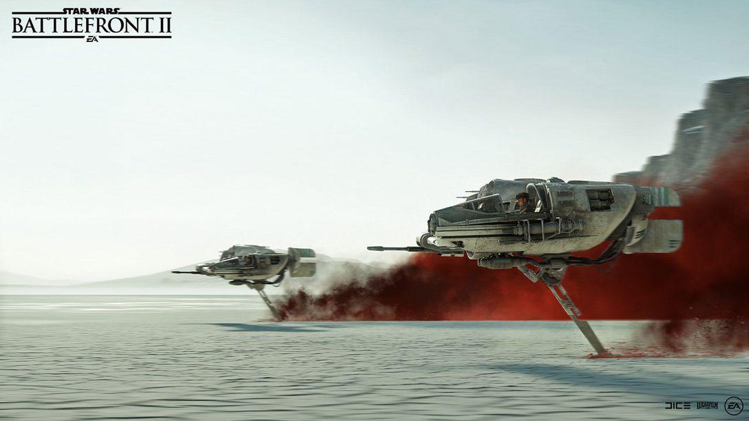 Bringing Star Wars: The Last Jedi to Star Wars Battlefront II