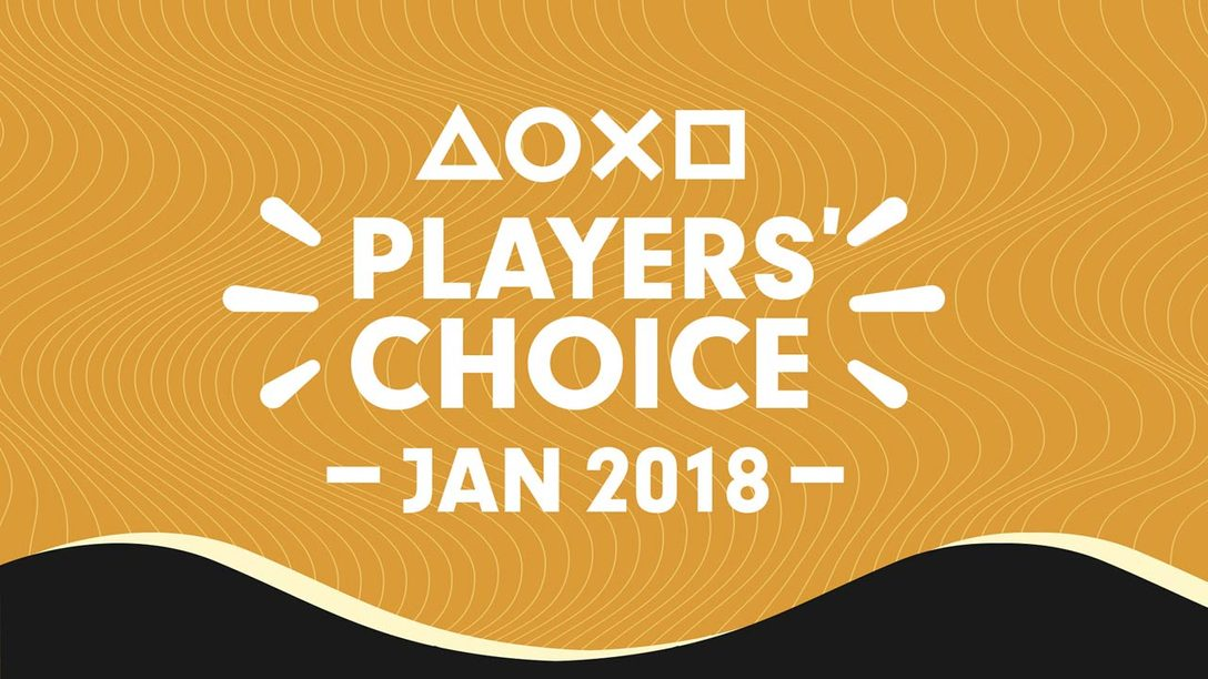 Players' Choice Jan. 2018 Winner: Monster Hunter World