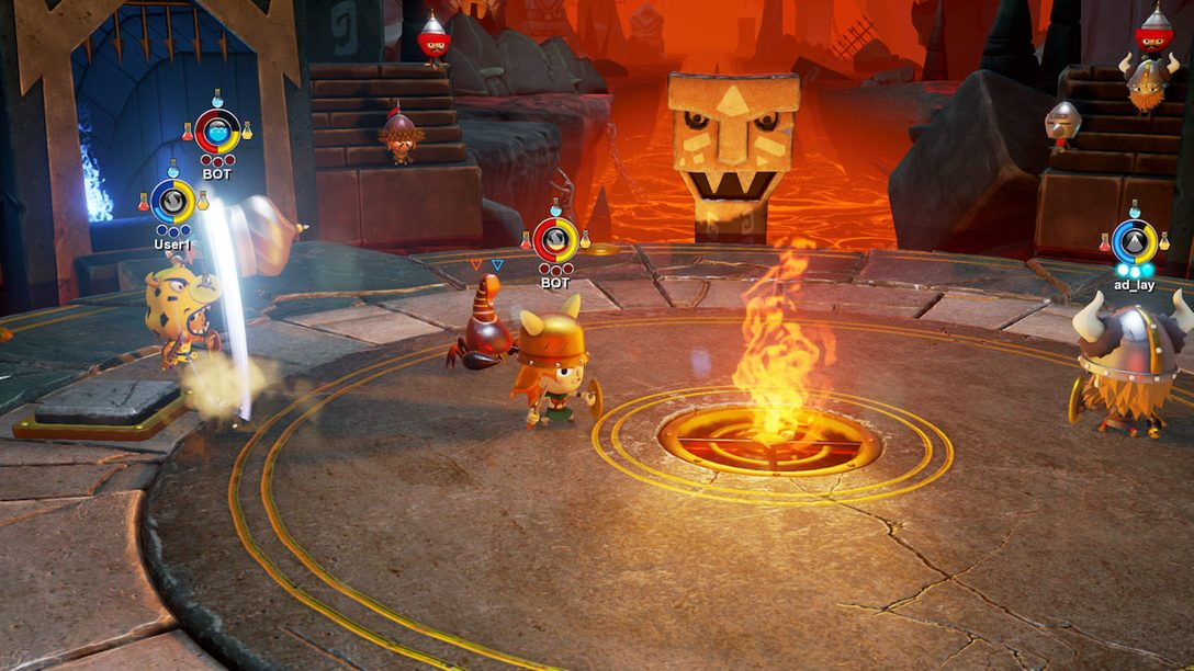 World of Warriors Out Today on PS4