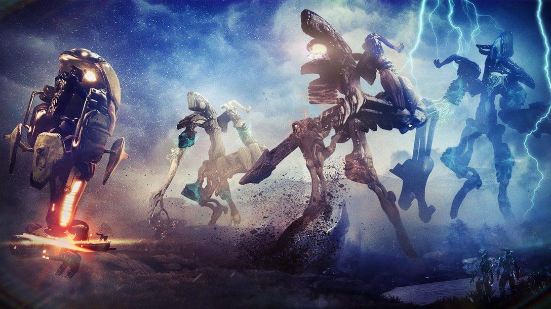 New Warframe Update Introduces Two Gargantuan New Eidolons