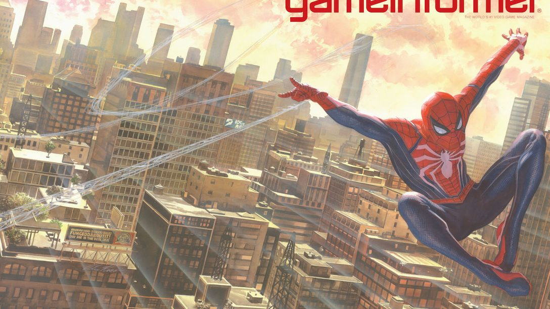 Game Informer's May Cover Revealed: Marvel's Spider-Man