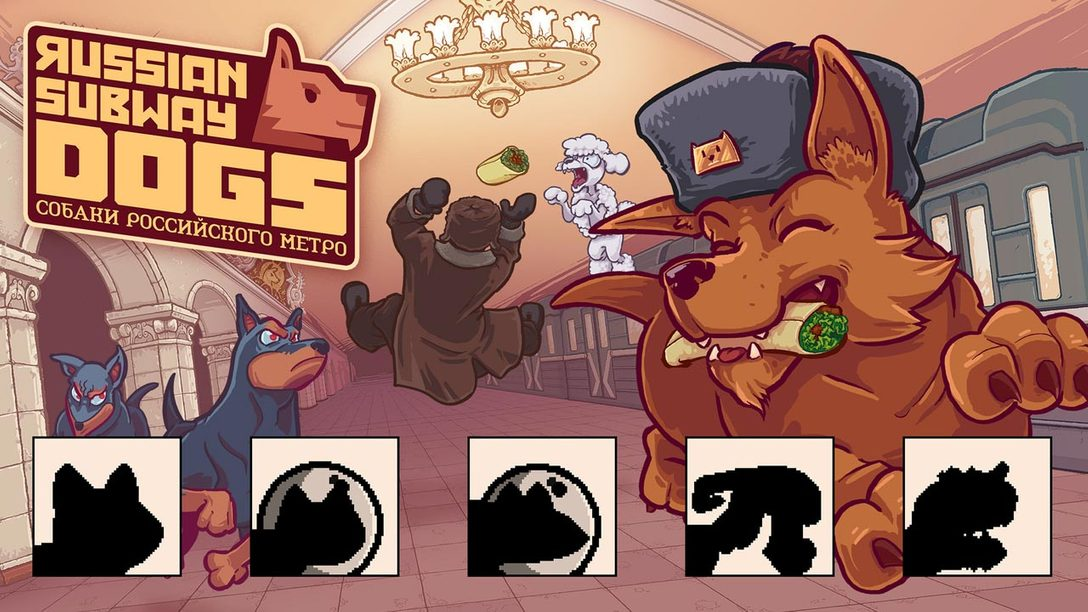 Russian Subway Dogs Barks to PS4, PS Vita This Year… With Some New Friends