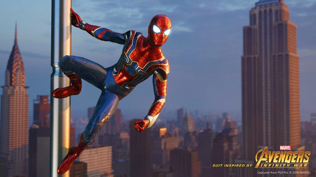 Iron Spider Suit Inspired by Marvel's Avengers: Infinity War Coming to Marvel's Spider-Man on Sept 7