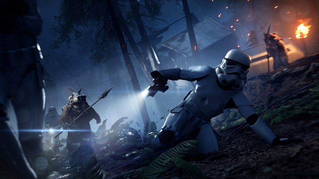Star Wars Battlefront II Night on Endor Update, Limited-Time Ewok Hunt Mode