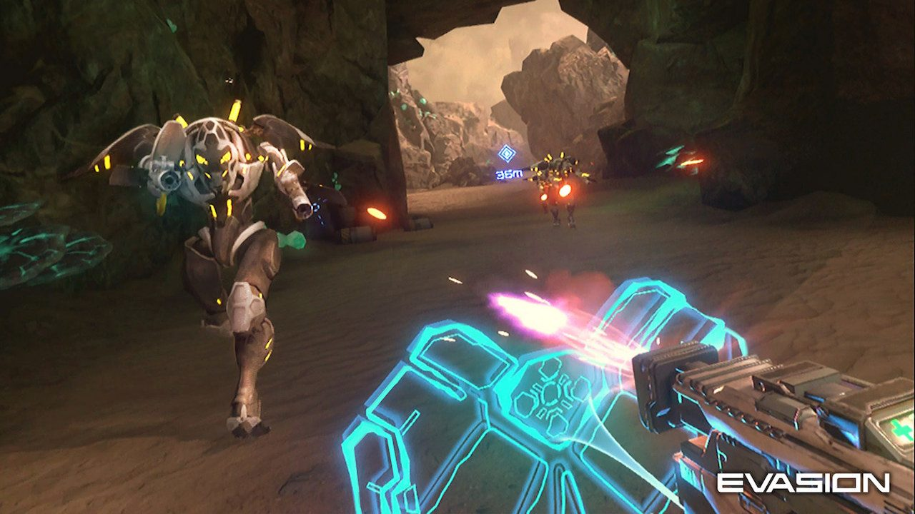 Introducing Evasion: An Intense Sci-Fi Shooter Coming to PlayStation